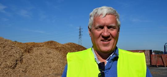 Christophe Baudelet a été la cheville ouvrière des projets picards d'Akuo Energy, photo Frédéric Douard
