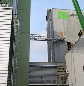 La centrale de cogénération de Porvoo en Finlande, photo Porvoon-Energia