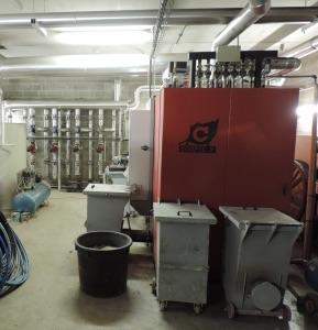 La chaudière bois COMPTE R de 400 kW, photo ALEC 27