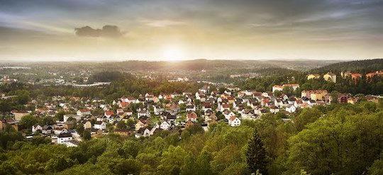 La ville de Borås en Suède a réduit ses émissions de CO2 par 7 depuis 1958, photo Borås Energi och Miljö AB