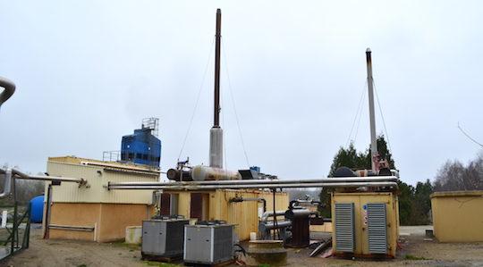 Les installations de cogénération et d'évaporation Arcavi à Eteignières, photo Frédéric Douard