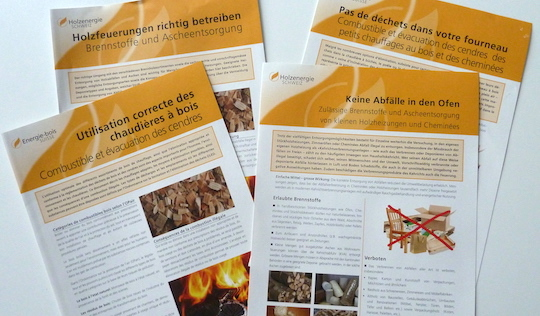 Notices Energie Bois Suisse