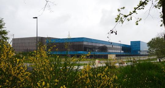Vue du bâtiment à Bouguenais, photo Frédéric Douard