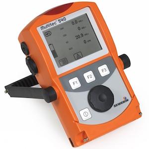 Le Multitec 540, appareil de mesure combiné à capteurs infrarouge, idéal pour le biogaz, photo Sewerin