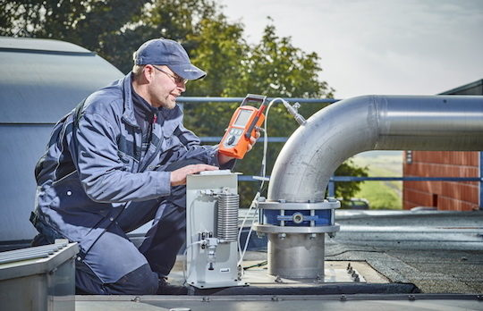 Le Multitec est un appareil de mesure mobile, photo Sewerin