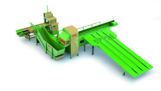 Combiné à bois de chauffage scieur / fendeur COMAP- Evolution SD 100. Capacité de coupe : 42 cm de diamètre