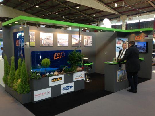 Stand Vbi salon bois-énergie 2017 à Limoges