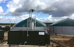L'installation de Meaux-Biogaz, photo HZI BioMethan