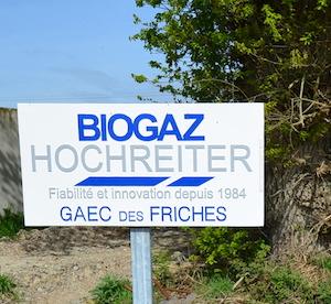 BIOGAZ HOCHREITER constructeur de l'unité de méthanisation du GAEC des Friches, photo Frédéric Douard