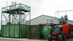 Installation de traitement des digestats liquides, photo France Evaporation