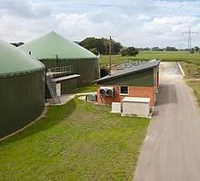 Installations de méthanisation de Dirk Westrup à Linne aux Pays Bas, photo BioConstruct
