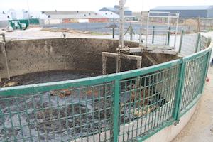 La fosse de prémélange à Leffincourt, photo BioConstruct