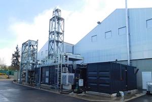 La première unité AE-Amine chez Terragr'eau à Vinzier en Haute-Savoie