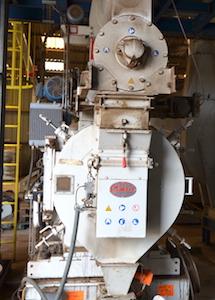 La presse à granulés CPM, photo Frédéric Douard