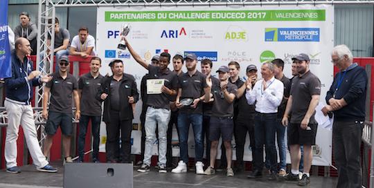 La remise des prix du Trophée GRTgaz le 20 mai 2017 à Valenciennes, photo Cédric Martigny