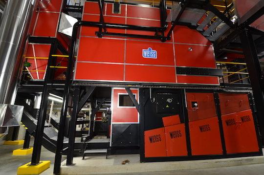Articles et reportages sur les chaudières à biomasse Weiss-France