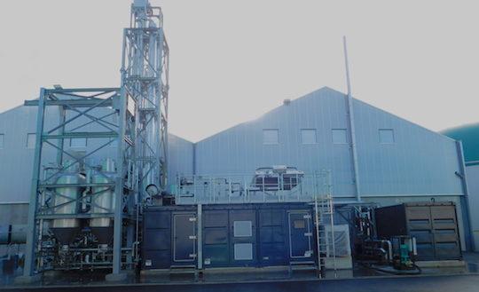 Le module AE-Amine de Terragr'eau, photo Arol