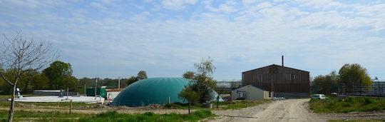 Biogaz et bois, de l'énergie pour faire rebondir le GAEC des Friches