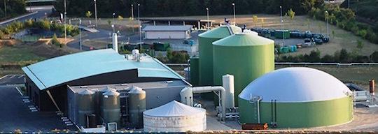 Tiper Méthanisation utilise le schéma de traitement du digestat, évapo-concentration & distillation de France Evaporation