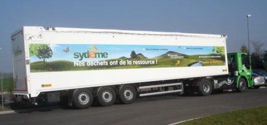Tracteur IVECO 44 tonnes du Sydeme, photo Sydeme