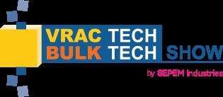 Vrac Tech 2019, salon des technologies du vrac du 1 au 3 octobre au Mans
