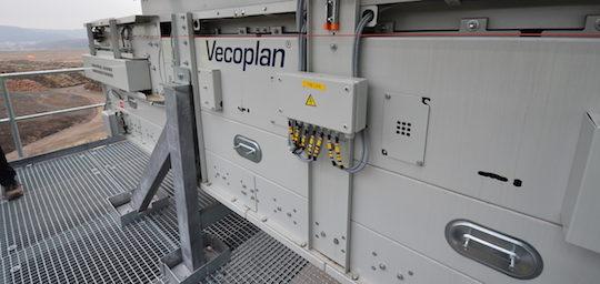 Convoyeur de combustible VECOPLAN pour l'alimentation de la chaudière BERTSCH, photo Frédéric Douard