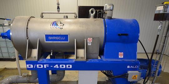 La centrifugeuse de digestat, photo Frédéric Douard