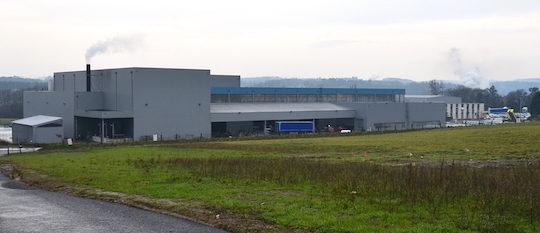 La société bretonne de galvanisation, en face de l'usine de méthanisation, photo Frédéric Douard