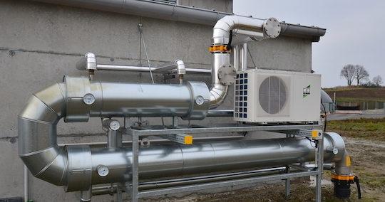 Le sécheur de biogaz, photo Frédéric Douard