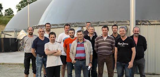 Les Energiculteurs de l'Oust, méthaniseurs à La Chapelle Caro, photo SAS Energiculteurs de l'Oust