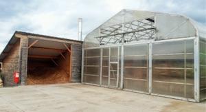 Séchoir solaire chez Barraquand, photo ONF Energie