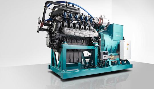 La cogénératrice Schnell L12V211BO produit 500 kWé