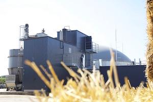 Le module d'explosion vapeur de l'usine de méthanisation de Parndorf en Autriche, photo BS