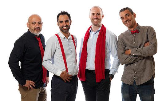 L'équipe Naoden, photo Naoden
