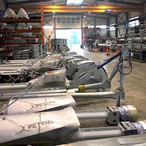 Les ateliers Peters Mixer, photo Peters Mixer