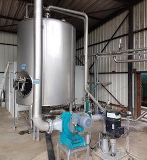 L'hygiénisateur BIOCHOP LANDIA de Bio Energie Touraine, photo Atlantique Industrie