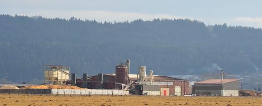 L'usine Désia 25 dans la plaine de Pontarlier, photo Frédéric Douard
