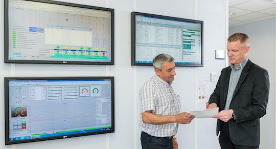 Maintenance et Télésurveillance constituent le quatrième métier du groupe FAUCHE, photo Fauché