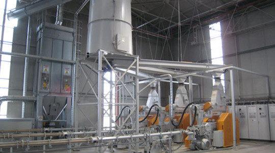 Lignes de presses mécaniques à briquettes Di Più, photo Di Più