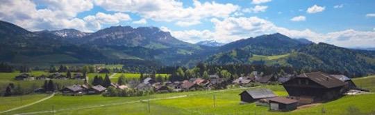 Le village d'Entlebuch dans le canton de Lucerne, photo Aide Suisse aux Montagnards