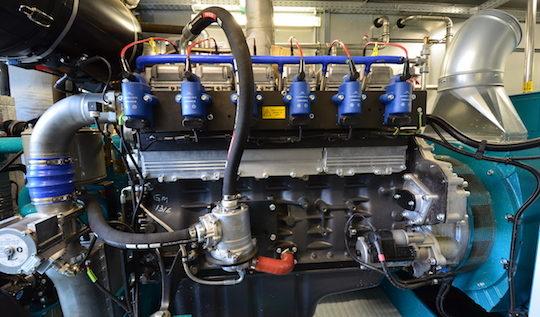 M thalica s quipe du nouveau moteur de cog n ration for Chambre de combustion moteur