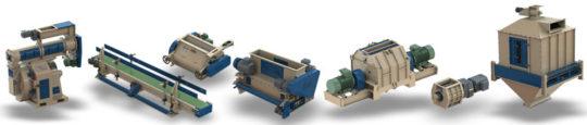 ESI équipementier pour la granulation, le broyage, la production de briquettes
