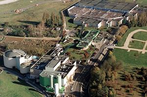 La nouvelle station d'épuration de Bonneuil-en-France produira du biométhane