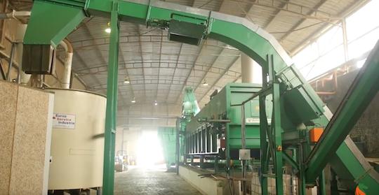 Équiwood, producteur de briquette biocombustible à base de litière de bois