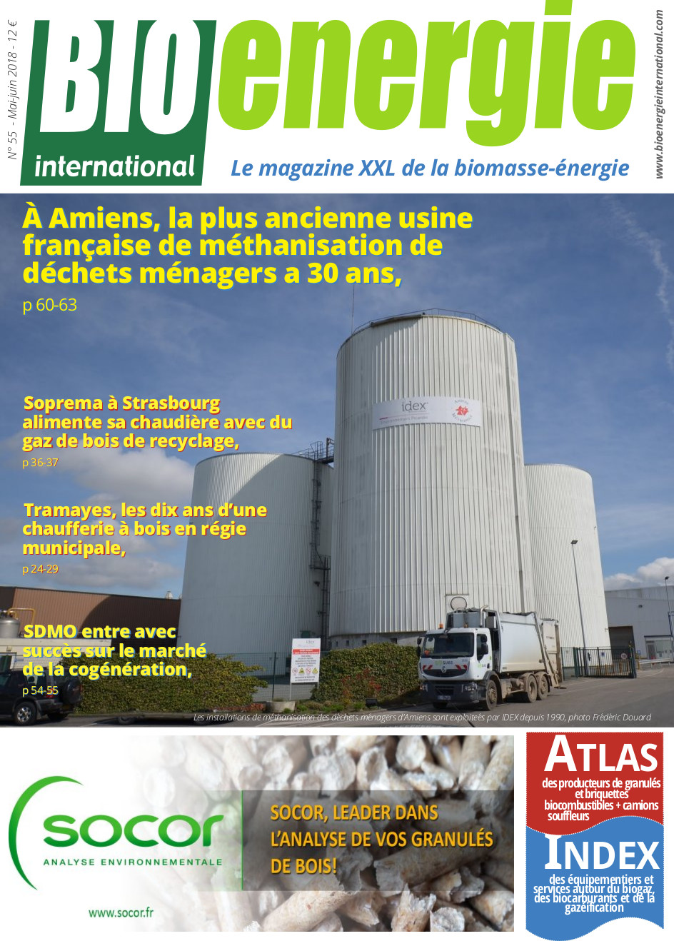Bioénergie international n°55 – Mai – juin 2018