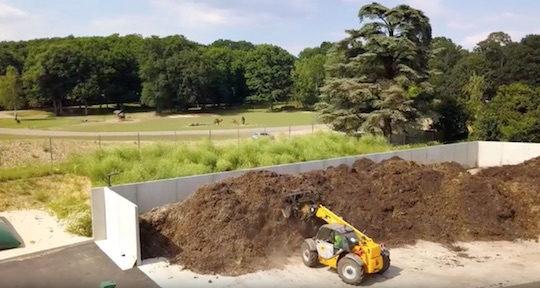 Valoriser en énergie les déchets verts et  le fumier des animaux du zoo de Thoiry