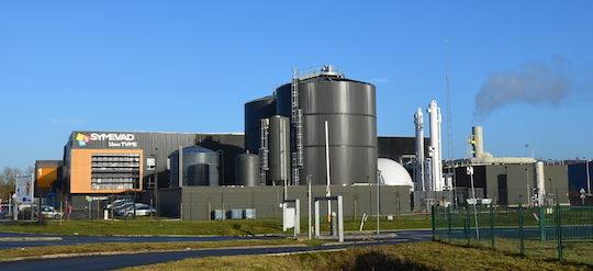TVME d'Hénin-Beaumont, valorisation unique de déchets ménagers résiduels en biométhane et CSR