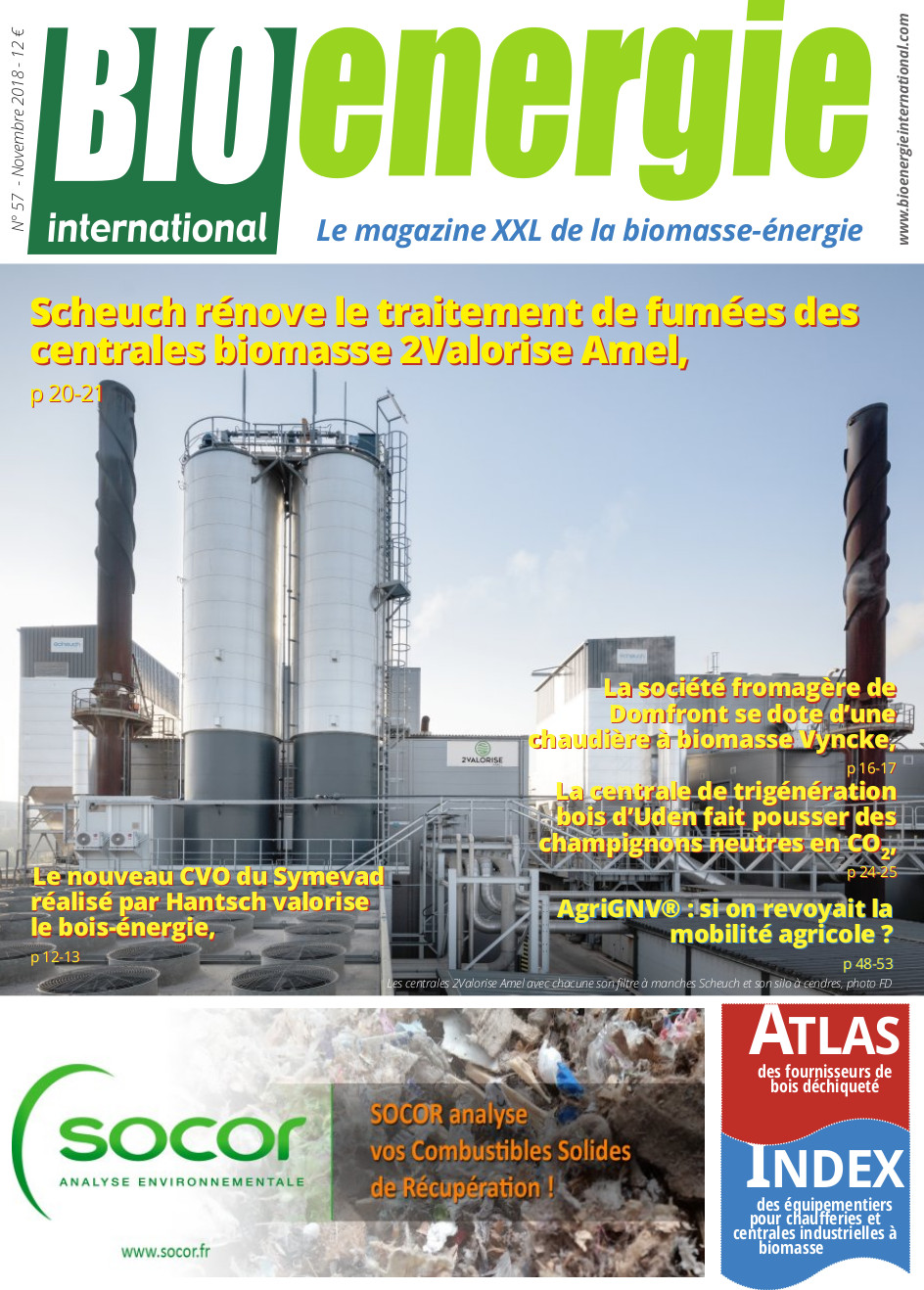 Bioénergie international n°57 – Novembre 2018