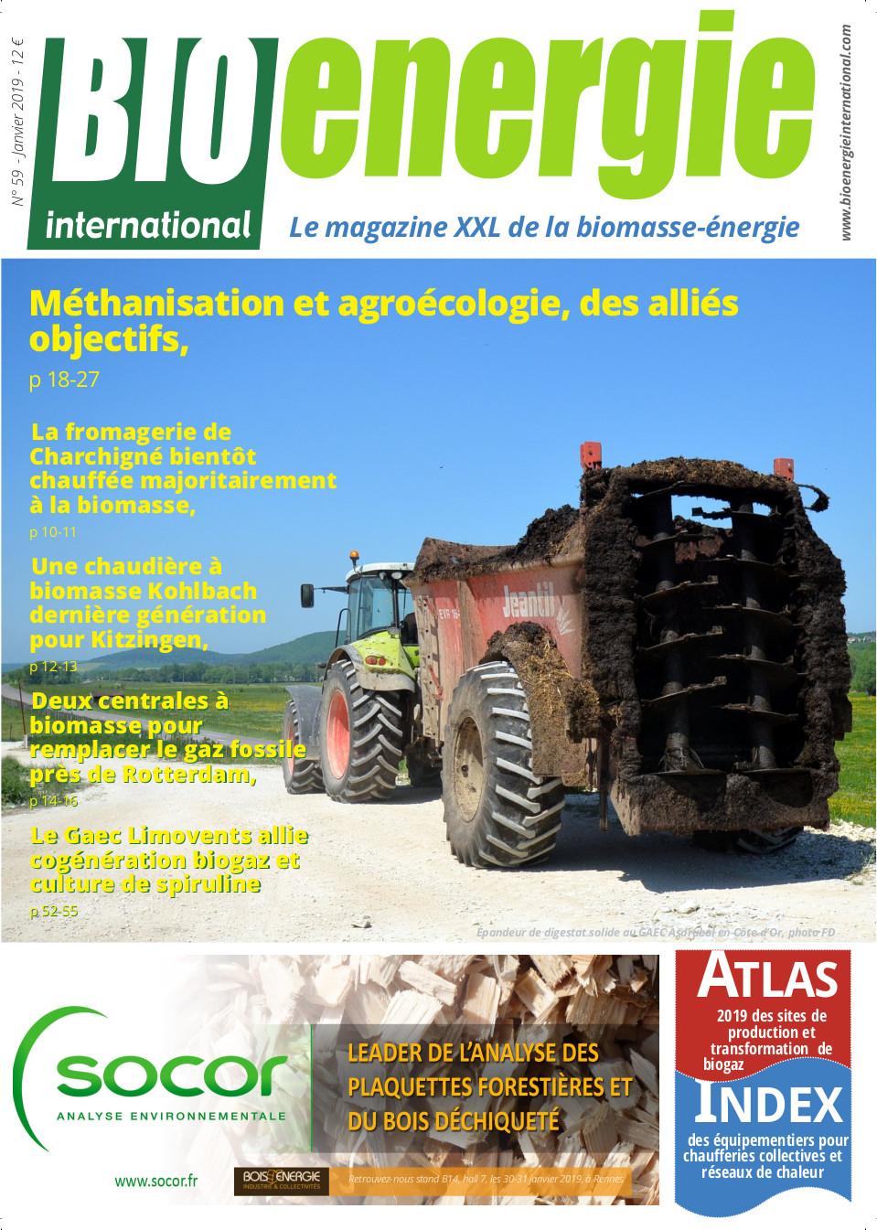 Bioénergie International n°59 – Janvier 2019