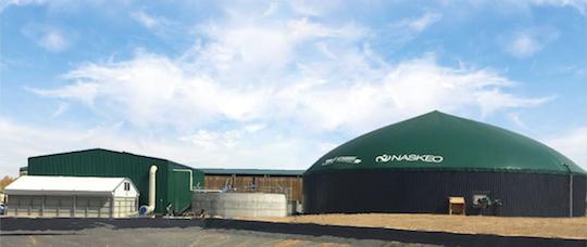 Méthabraye, première unité française de méthanisation agricole en biogaz porté